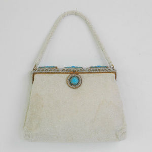 Vintage French Beaded Purse